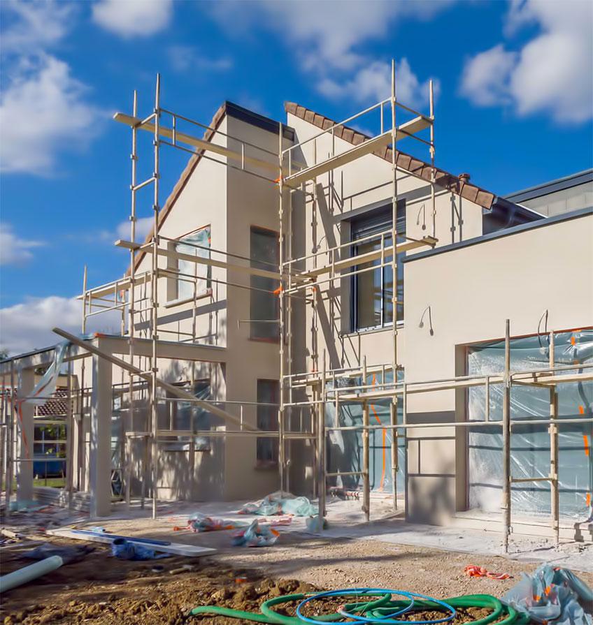 Gradnja kuće kljuć u ruke