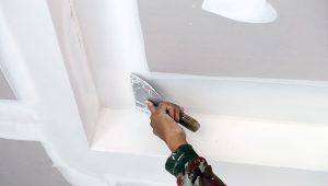 Postavljanje knaufa na strop